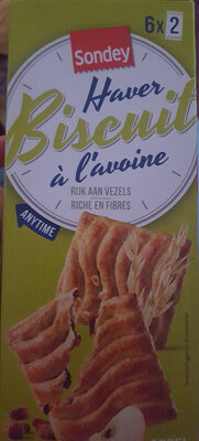 Haver Biscuits, Appel - Product - nl