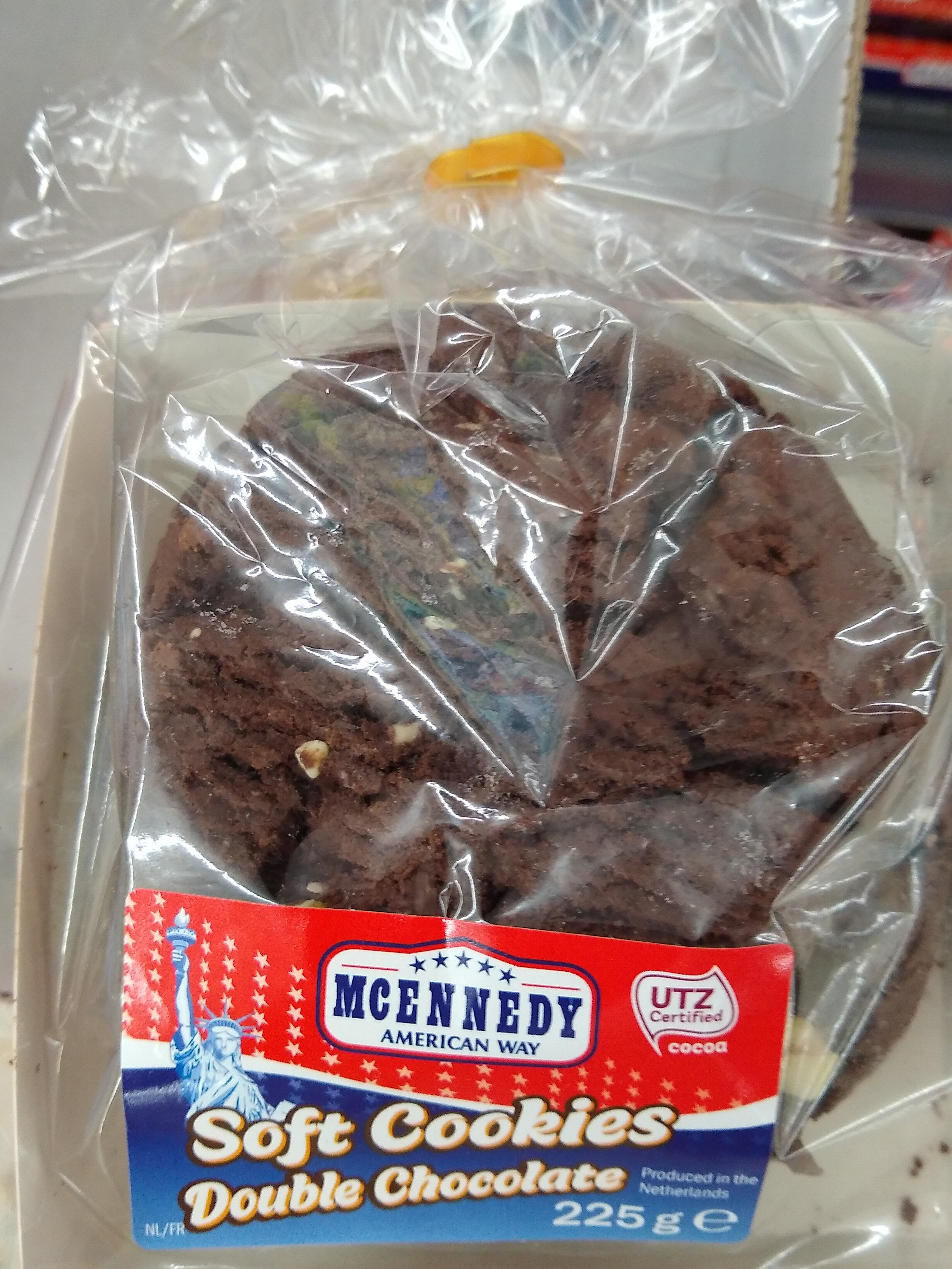 Soft Cookies Double Chocolate - Product - fr