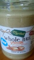 Whole Nut Smooth Peanut Butter - Product