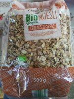 Bio Muesli Cereals and seeds - Produkt - fr