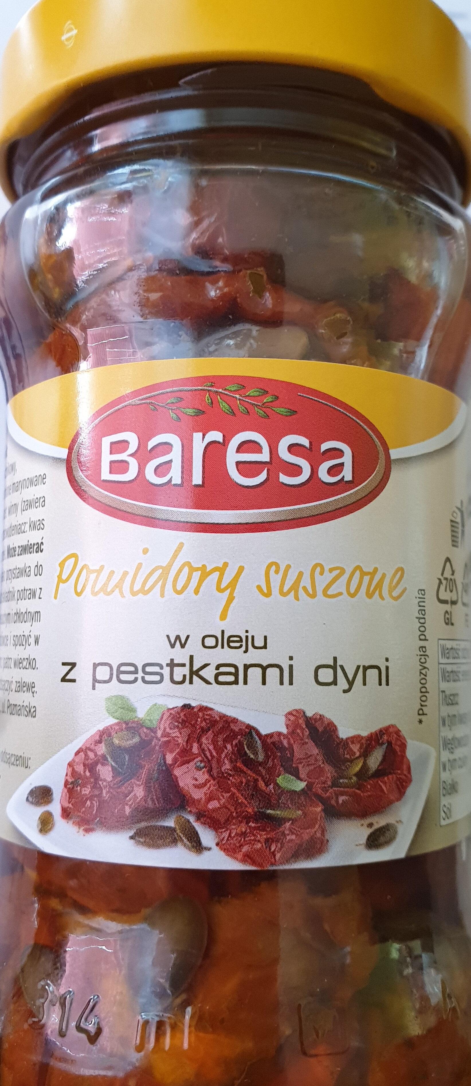 Pomidory suszone w oleju z pestkami dyni - Product - pl