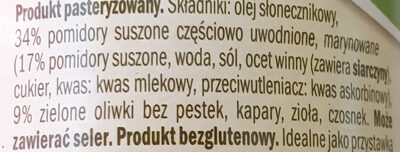 Pomidory suszone w oleju z oliwkami - Ingredients - pl