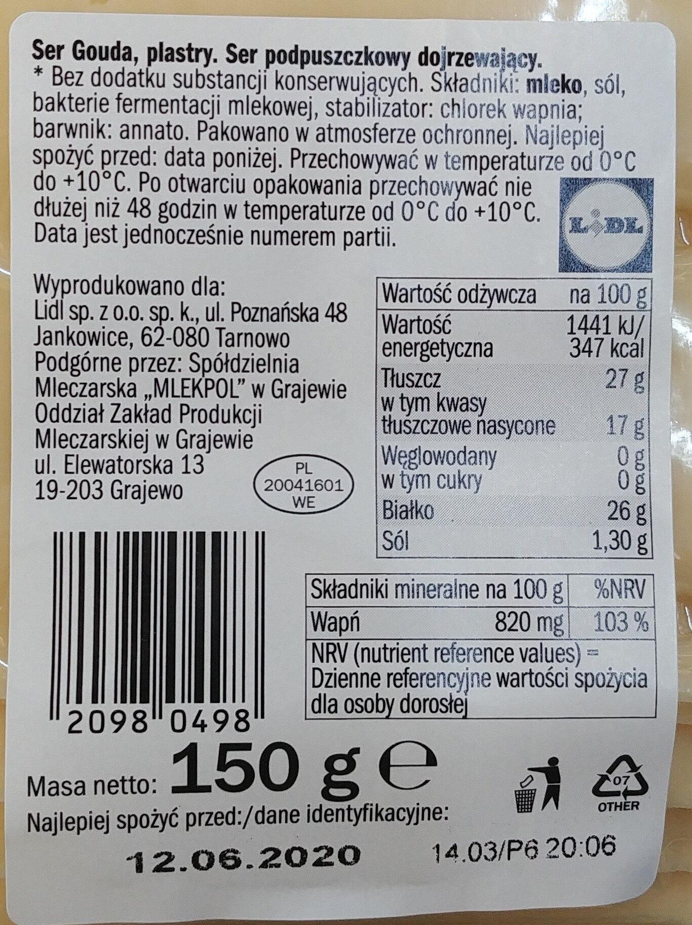 Ser - Ingrediënten - pl