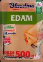 Ser Edam, plastry - Produkt