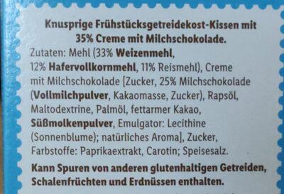 Milk Choco Bits - Ingredients - de