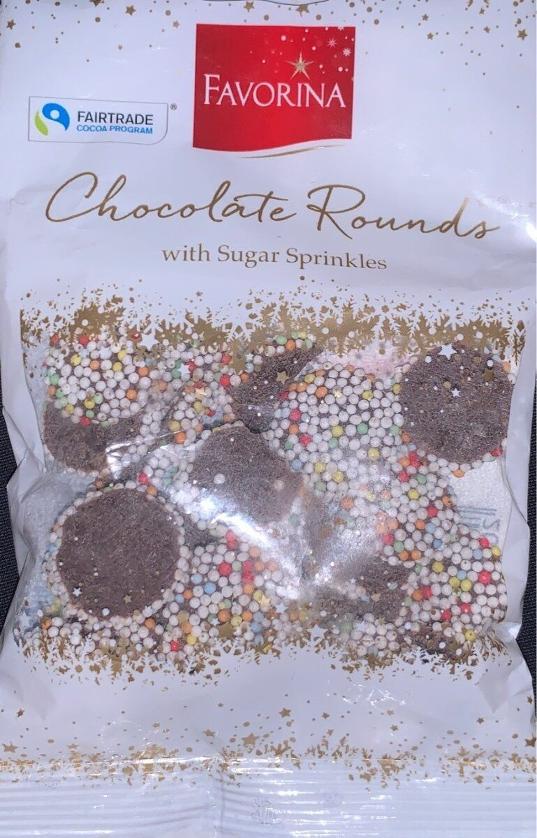 Chocolate Rounds (with Sugar Sprinkles) - Product