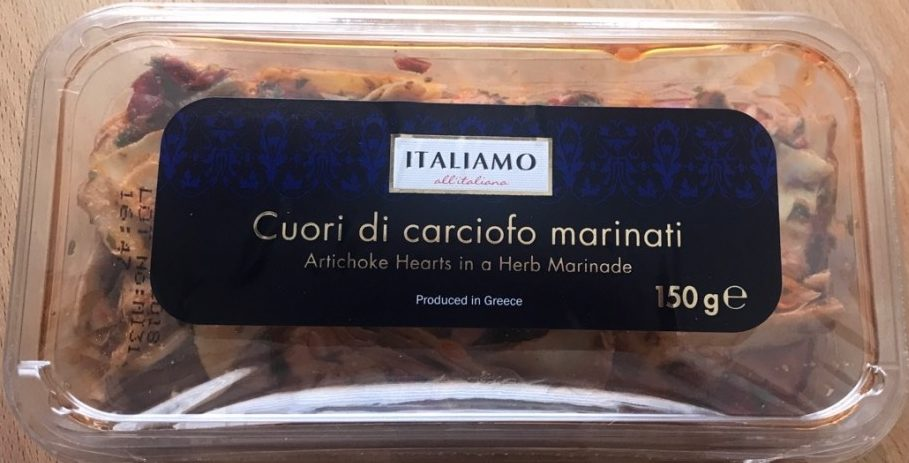 Couri di carciofo marinati - Producte