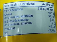 Lemon drink - Información nutricional - es