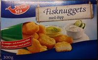 Ocean Sea Fisknuggets med dipp - Product