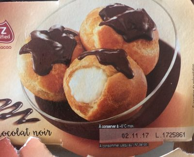 Profiteroles, Sauce au Chocolat Noir - Produit - fr