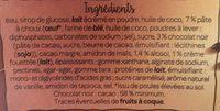 Profiteroles, Sauce au Chocolat Noir - Ingrédients - fr
