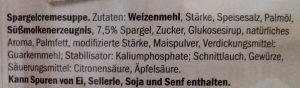 Spargelcreme Suppe - Zutaten - de
