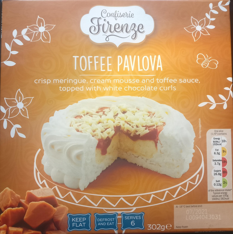 Toffee Pavlova - Produit - en