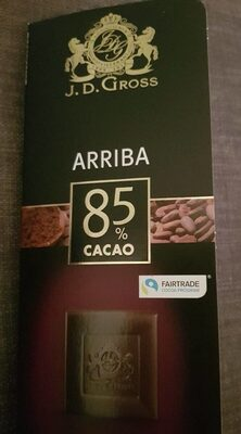 Supérieur 85% cacao - Product