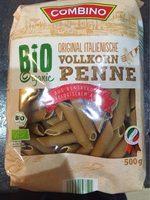 Bio penne rigate au blé complet - Produit