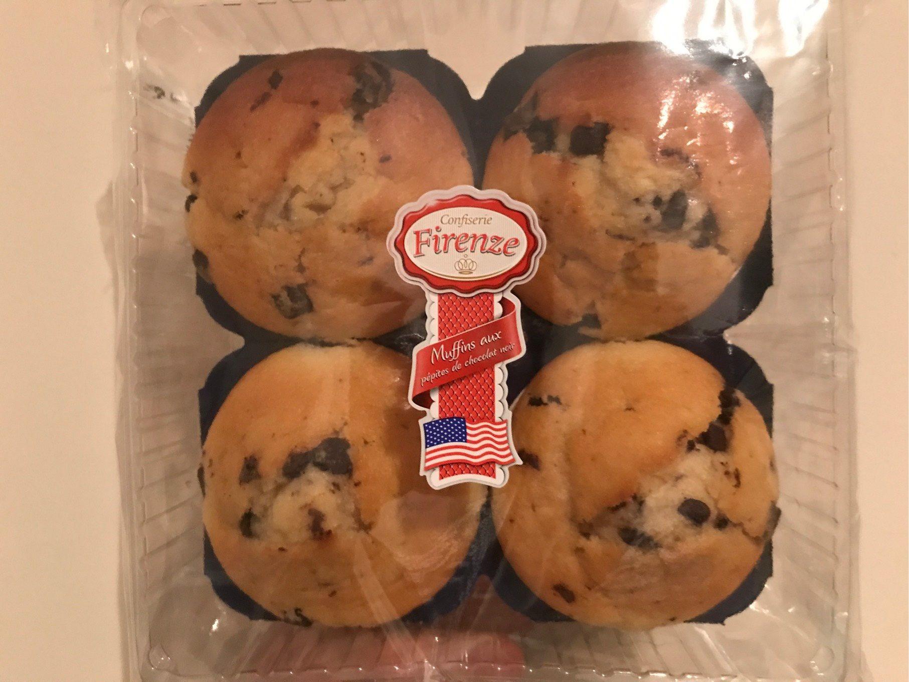 Muffins aux pepites de chocolat noir - Product - fr