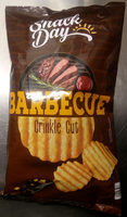 Snack Day Barbecue Crinkle Cut - Produit - sv