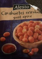 Cacahuètes enrobées goût épicé - Produit - fr