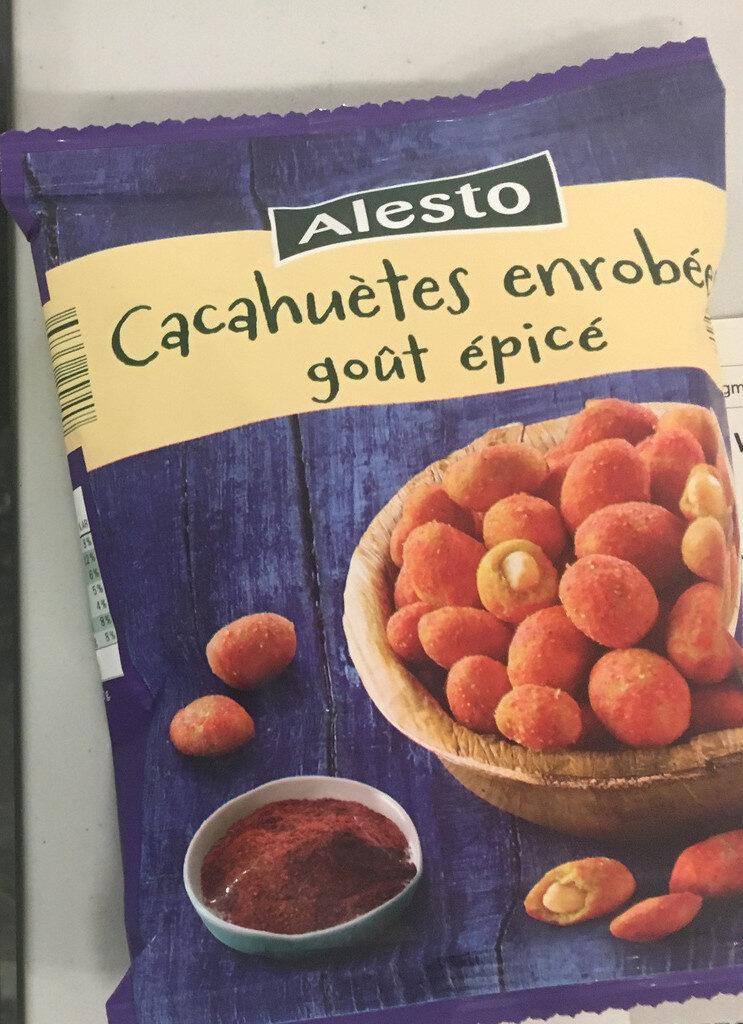 Cacahuètes enrobées saveur épicée - Produit - fr