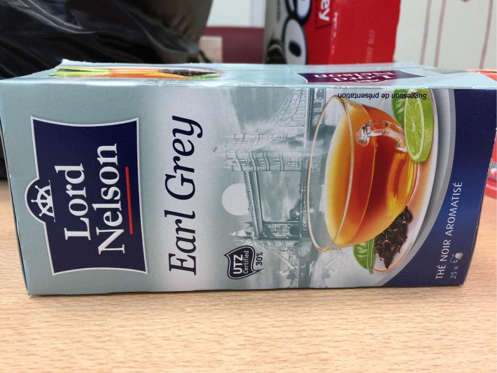 Thé Earl Grey Lord Nelson 50 G
