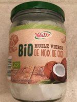 Huile vierge de noix de coco - Produit