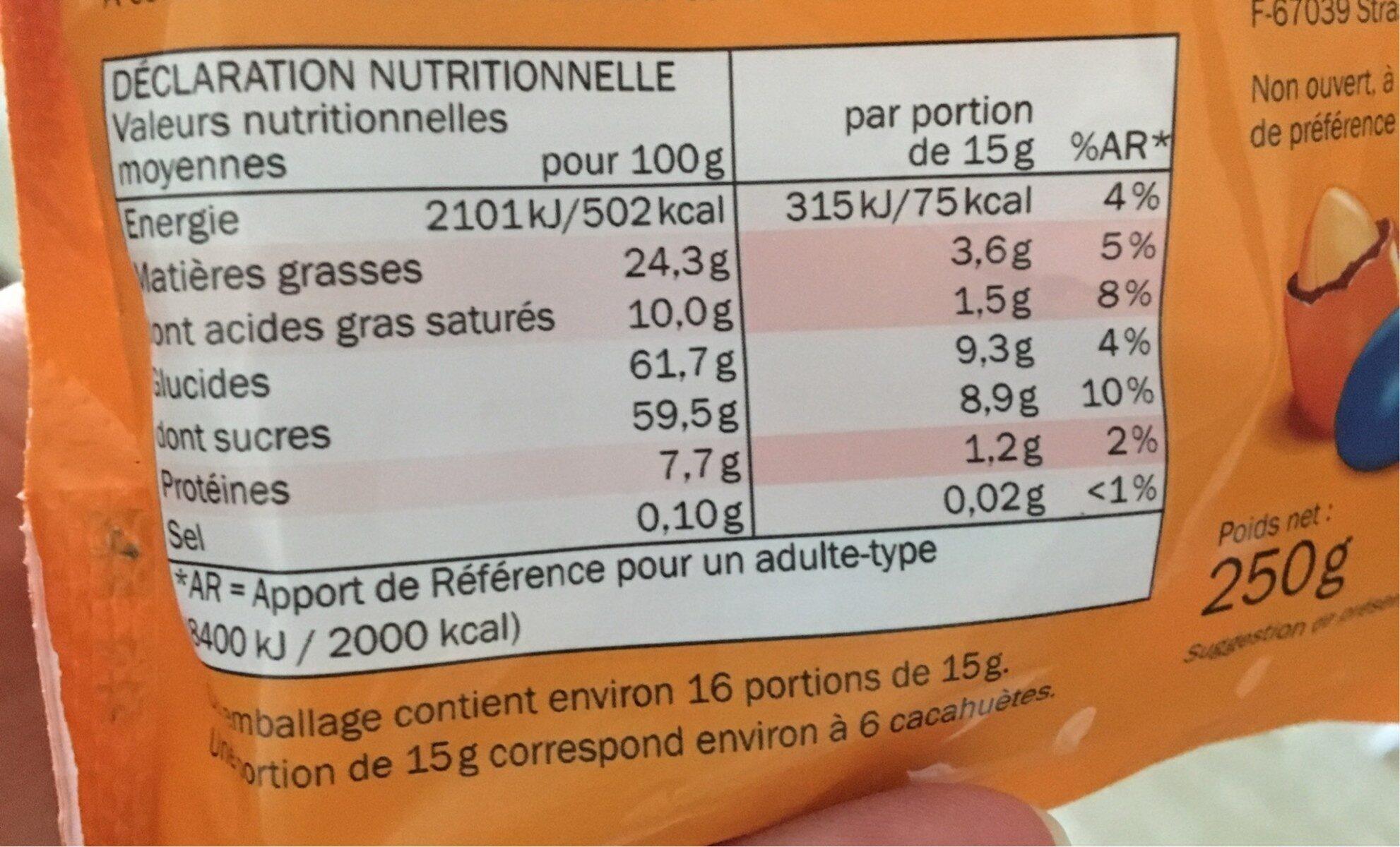 Big hit - Nutrition facts - de