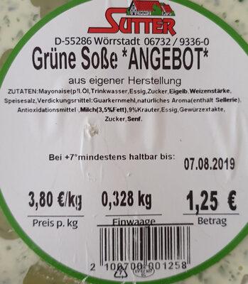 Grüne Soße *ANGEBOT* - Produit - de