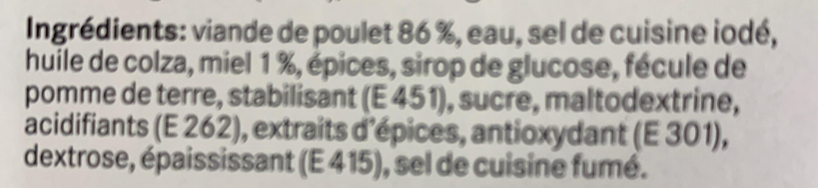 Honey chicken strip - Ingrédients - fr