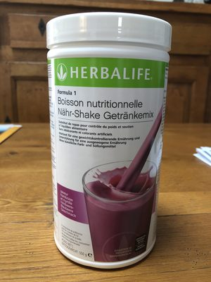 Formula 1 Boisson nutritionnelle MIRTILLO - Product - fr