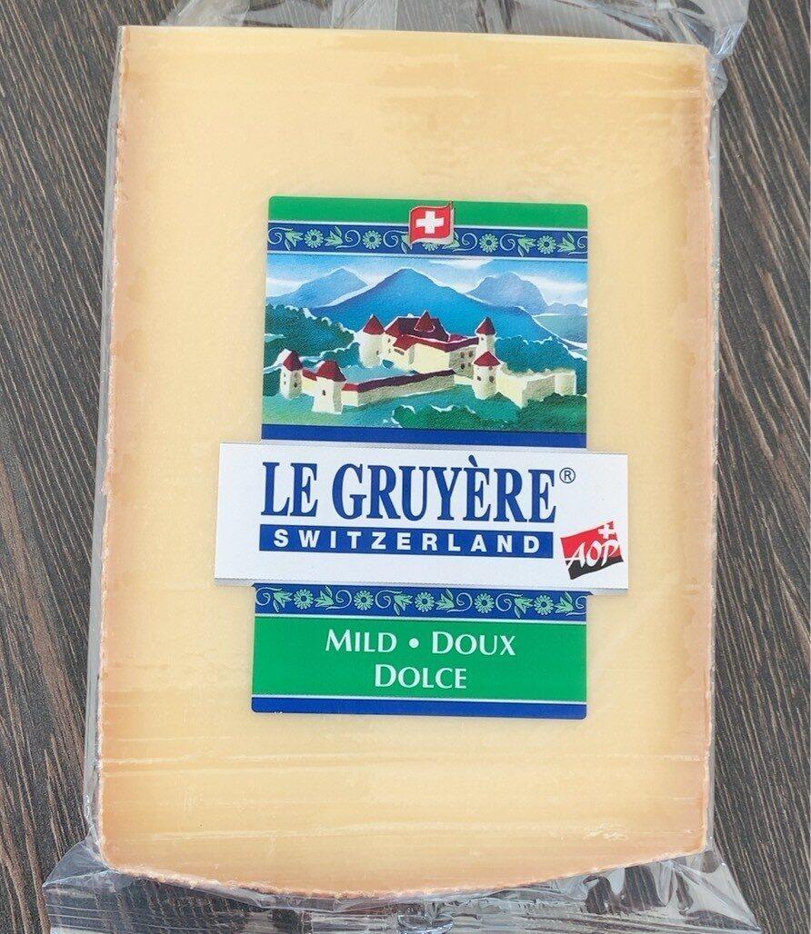Le gruyère doux - Prodotto - fr