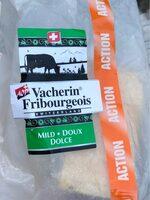 Vacherin fribourgeois AOP doux - Product - fr