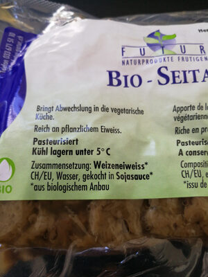 Bio-Seitan geschnetzelt Knospe - Ingrédients - de
