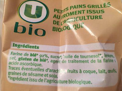 Gouda - Ingredienti - fr