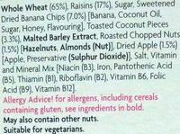 Fruit & fibre - Ingredients - en