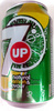 7up natural lemon & lime - Product