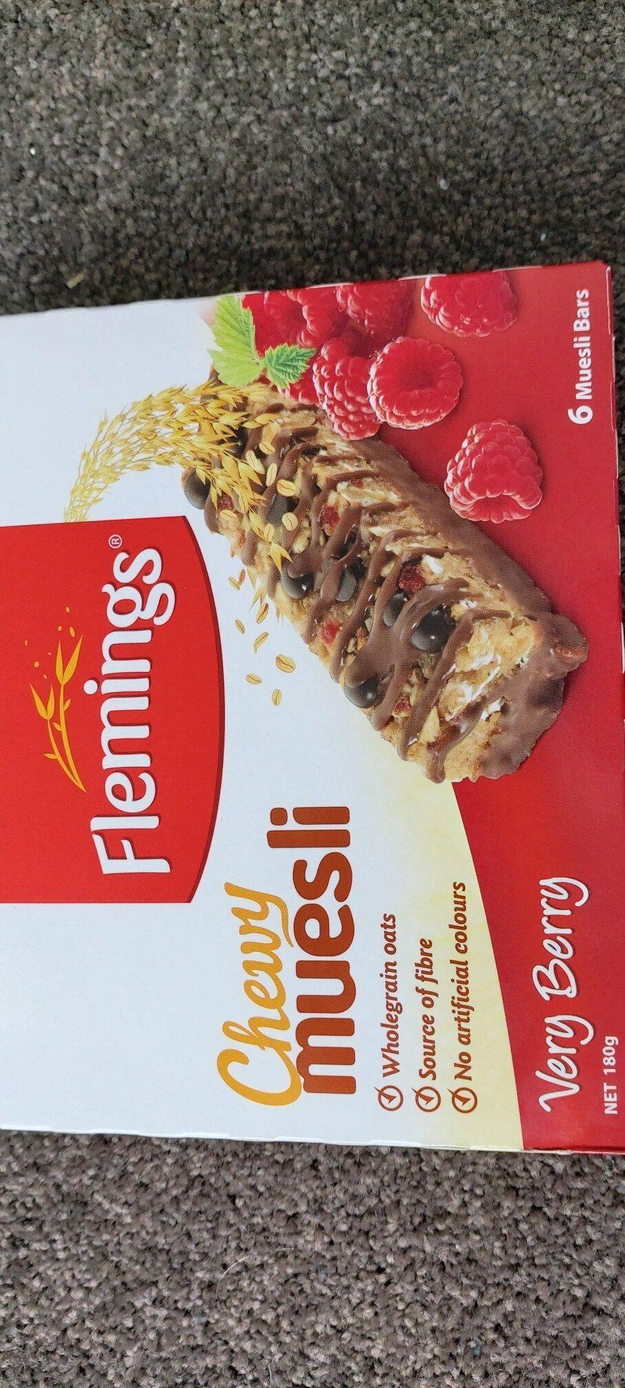 Flemings Chewy muesli - Product - en