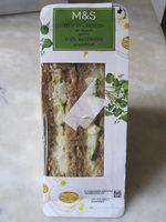 Sandwich Œuf et Cresson, Pain Malté à l'Anglaise - Product