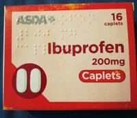 Asda ibuprofen 200mg caplets - Product - en