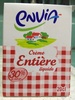Crème entière liquide - Produit