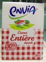 Crème entière liquide - Product - fr