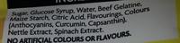 Jelly Babies - Ingredients - en