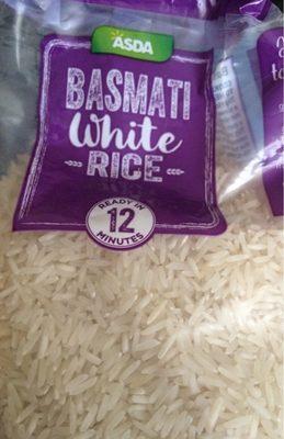 Basmati white Rice - Product