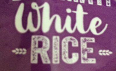 Basmati white Rice - Ingredients
