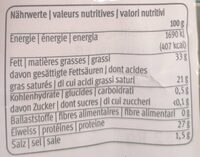 Surchoix - Nutrition facts - fr