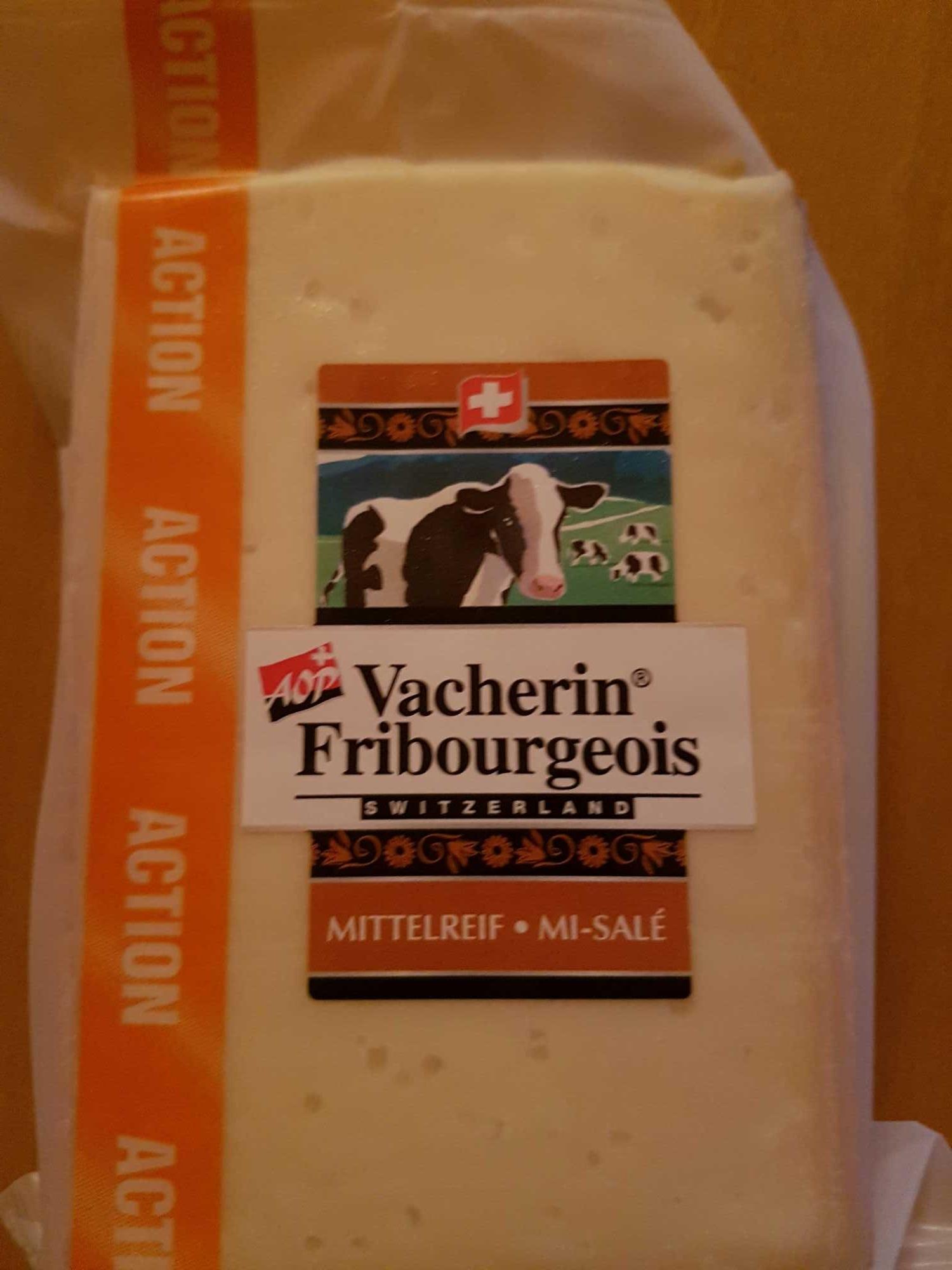 Vacherin fribourgeois mi-salé - Produit - fr