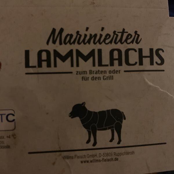 Marinierter Lammlachs - Produit - en