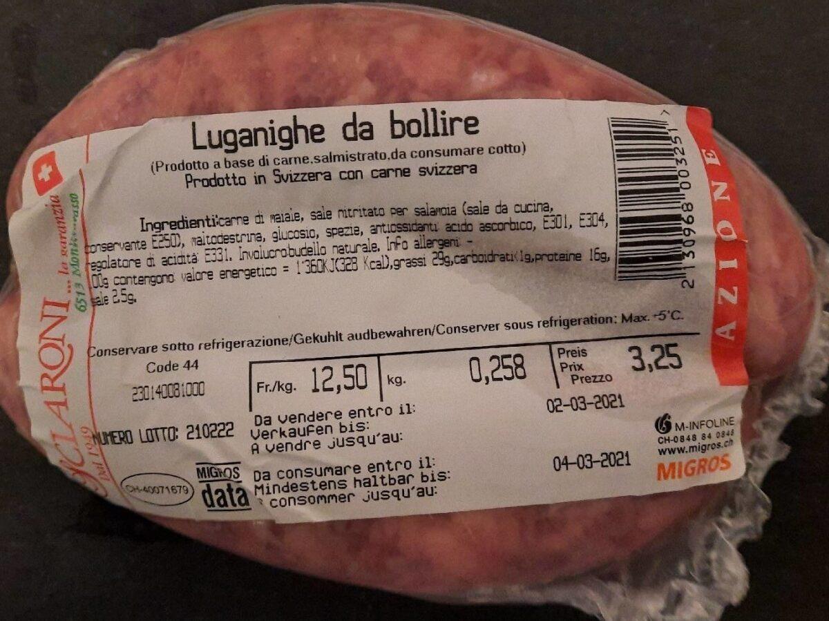Luganighe da bollire - Prodotto - it