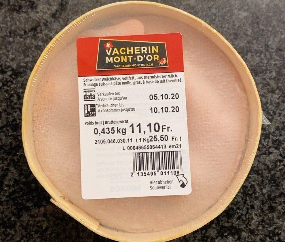 Vacherin Mont-d'Or - Prodotto - fr