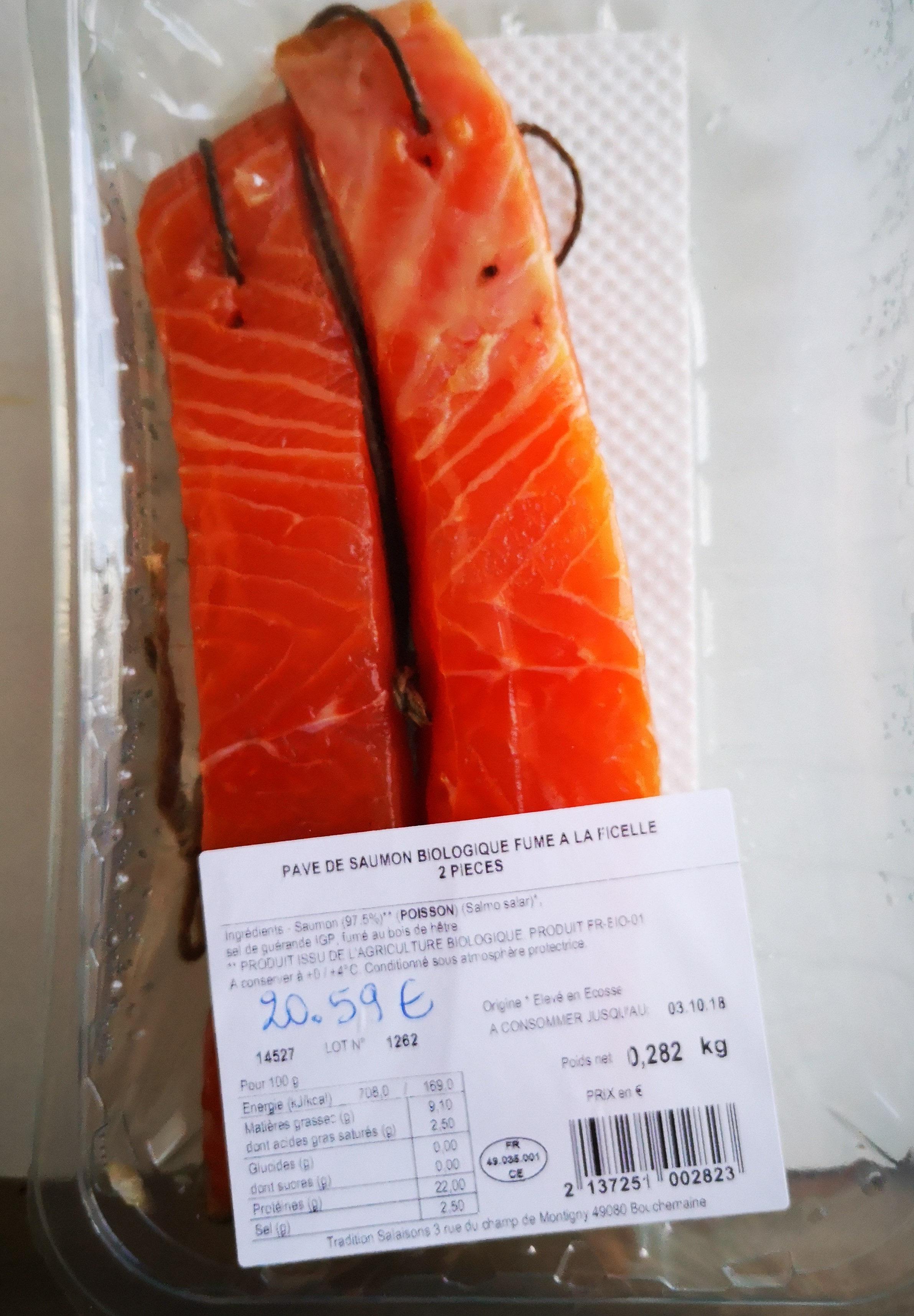 pavé de saumon biologique - Product - fr