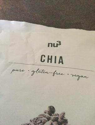 Chia - Ingrediënten - fr
